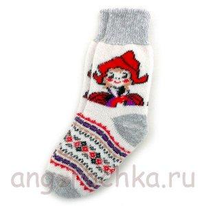 Носки женские с Красной Шапочкой - 705.50