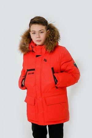 Куртка для мальчика красный
