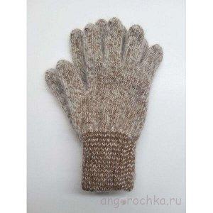 Пуховые женские перчатки - 403.5