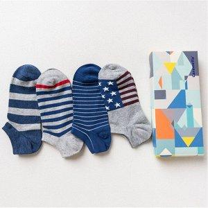Набор мужских носков «Полосатые», 4 пары