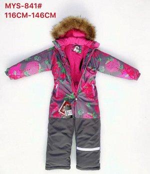 MYS-841Se Зимний комбинезон для девочки (116-146)