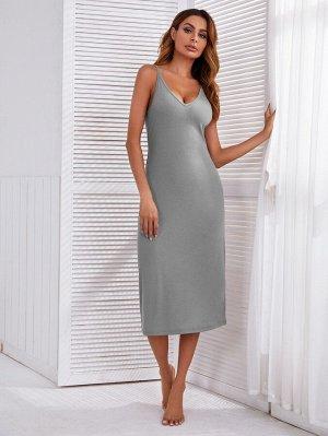 Домашнее платье миди
