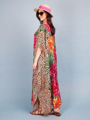Платье 100% вискоза, FABRETTI, FRT2021014-5