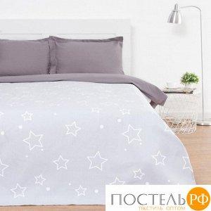 Покрывало Этель Grey star, 150*215 см, 100% хлопок