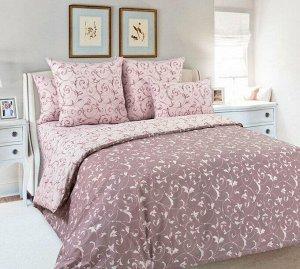 Пододеяльник 1,5-спальный, перкаль (Габриэль, розовый)