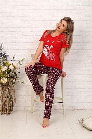 Костюм женский, модель 154, трикотаж (Red Fox )