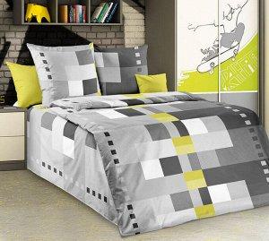"""Комплект постельного белья 1,5-спальный, бязь """"Люкс"""" (Комильфо)"""
