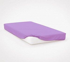 Комплект наволочек для подушки 50*70 см, трикотаж, на молнии (Сиреневый)
