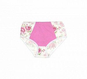 Трусы женские, модель 450, трикотаж (Розовая вставка)