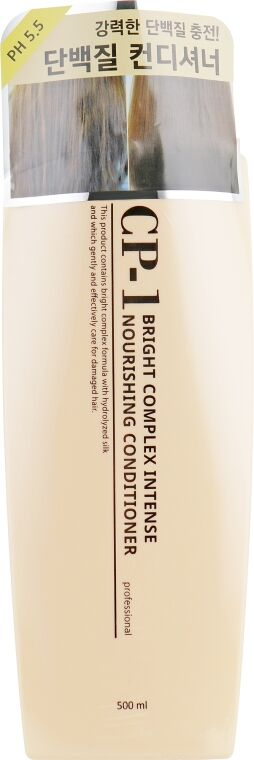 Esthetic House CP-1 Интенсивно питающий кондиционер для волос с протеинами Bright Complex Intense Nourishing Conditioner, 500мл