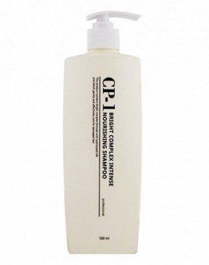 Esthetic House CP-1 Интенсивно питающий шампуньшампунь для волос с протеинами Bright Complex Intense Nourishing Shampoo, 500мл