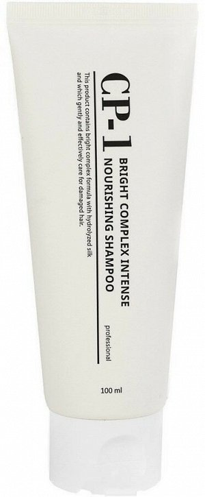 Esthetic House CP-1 Интенсивно питающий шампуньшампунь для волос с протеинами Bright Complex Intense Nourishing Shampoo, 100мл