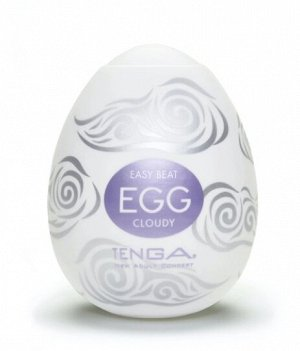 TENGA № 8 Стимулятор яйцо  Cloudy