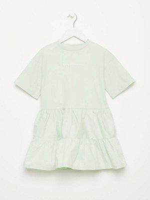 1804040728 (11(светло-зеленый)) Платье для девочек