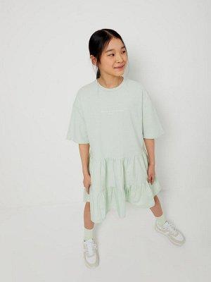 1804050728 (11(светло-зеленый)) Платье для девочек