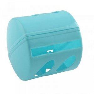 Держатель для туалетной бумаги, пластик, колор, AQUA