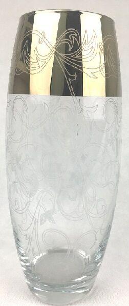Ваза, h 265 мм, стекло, ФЛОРА, деколь Вдохновение (432)