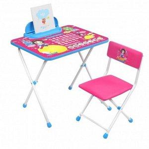 Комплект детской мебели, (стол + пенал + стул мягкий), БЕЛОСНЕЖКА Disney 1