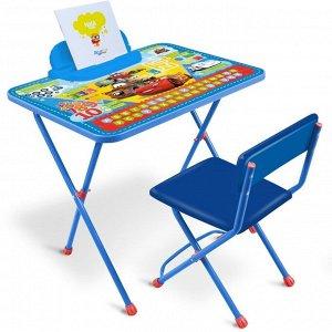 Комплект детской мебели, (стол + пенал + стул мягкий), ТАЧКИ Disney 1, подар. упак.