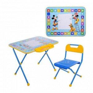 Комплект детской мебели, (стол + пенал + стул) Disney1 МИККИ МАУС И ДРУЗЬЯ