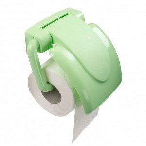 Держатель для туалетной бумаги, пластик, колор, РОЛЛО