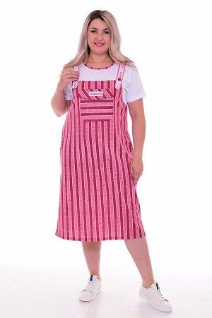 Платье женское 4-083а (розовый)