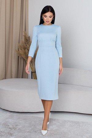 """Платье """"AZ-407"""" (голубой)"""