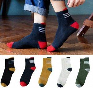 Мужские носки Gefuhong Fast Полосочки, 41-42р