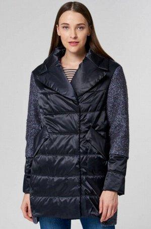 Женское пальто текстильное на утеплителе SHELTER