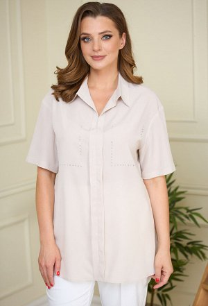 Блуза Anastasia Mak 834 бежевый