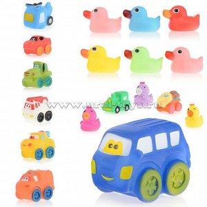 Набор игрушек для купания в пакете