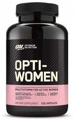 Мультивитамины OPTIMUM NUTRITION Opti-Women - 120 капсул