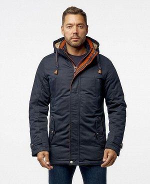 Новинки Куртка ZAA 7865 Стильная мужская куртка-парка, изготовлена из качественной ветрозащитной ткани с водоотталкивающим покрытием. Имеет два нагрудных кармана на молниях, два нижних боковых кармана