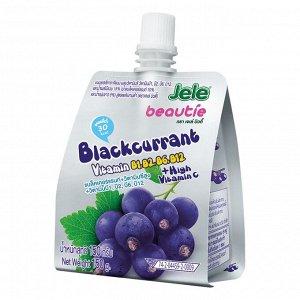 Бьюти желе JELE BEAUTIE c соком черной смородины, витаминами С, В1, В2,В6,В12 150г