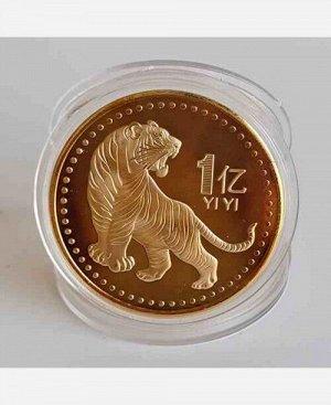 """Монета сувенирная """"Тигр 2022"""" 9046456"""