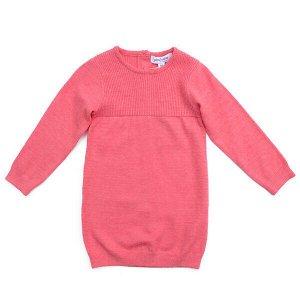 Платье Состав: 55% вискоза, 27% полиэстер, 18% нейлон Сезон: Весна, Лето Цвет: розовый Год: 2021 Платье с высоким содержание вискозы - отличное решение для повседневного гардероба ребенка. За счет выс
