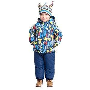 Куртка Состав: Верх- 100% полиэстер, Подкладка- 60% хлопок, 40% полиэстер, Наполнитель- 100% полиэстер, 250 г/м2 Сезон: Осень, Весна Цвет: синий, серый Год: 2021 *Куртка демисезонная PlayToday со сле