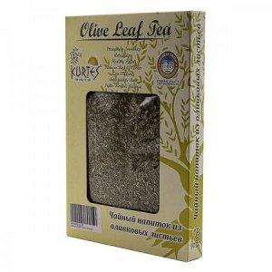 Чайный напиток из оливковых листьев с лемонграсс KURTES 100 гр