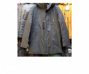 Мужская демисезонная УДЛИНЕННАЯ куртка с капюшоном. Такая КЛАССНАЯ, Смотри ВИДЕО-ОБЗОР