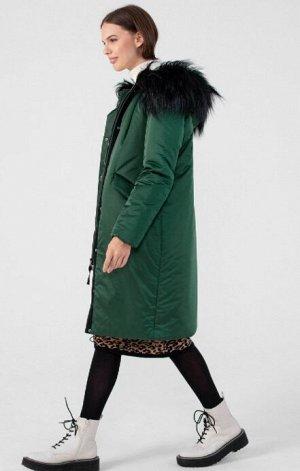 Пальто зимнее с мембраной и съёмным мехом