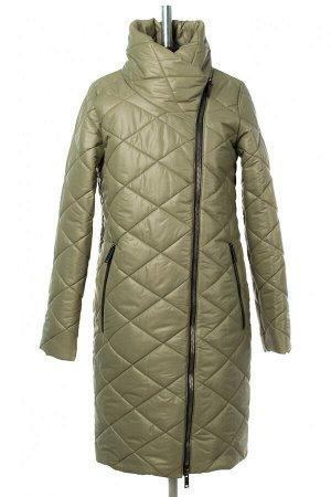 04-2809 Куртка женская демисезонная (синтепон 150) Плащевка Олива