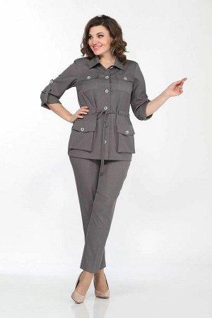 Lady Style Classic 2151 светло-серый, Брюки,  Жакет