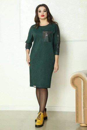 Solomeya Lux 763 зеленый, Платье