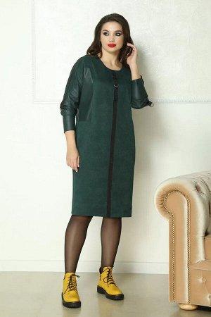 Solomeya Lux 772 зеленый, Платье