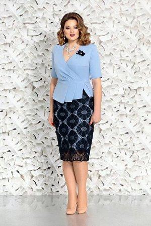 Mira Fashion 4580-3, Блуза,  Юбка
