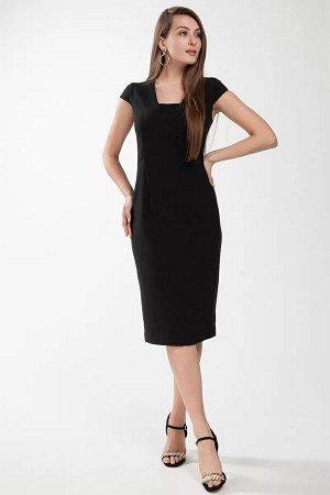 """Платье Платье женское, полуприлегающего силуэта, длинной выше уровня колена. Застежка в среднем шве спинки на металлическую тесьму-молнию от горловины. """" Платье в боковых частях переда и спинки отрезн"""