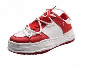 Женские кроссовки, цвет красный