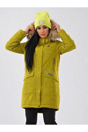 Женская куртка-парка Azimuth B 21802_102 Горчица