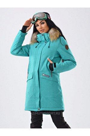 Женская куртка-парка Azimuth B 21802_100 Мята