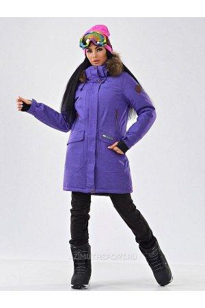 Женская куртка-парка Azimuth B 21802_96 Фиолетовый